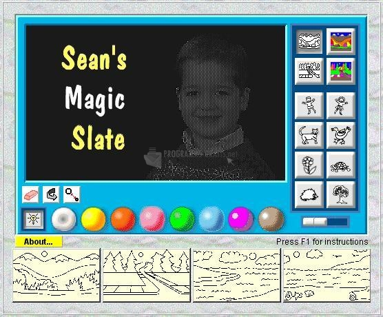 Pantallazo Sean´s Magic Slate