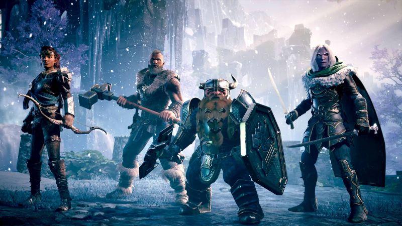 Pantallazo Dungeons & Dragons: Dark Alliance
