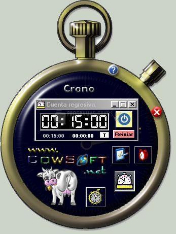 Pantallazo Crono