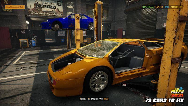 Pantallazo Car Mechanic Simulator 2021