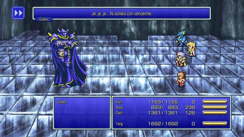 Pantallazo Final Fantasy IV