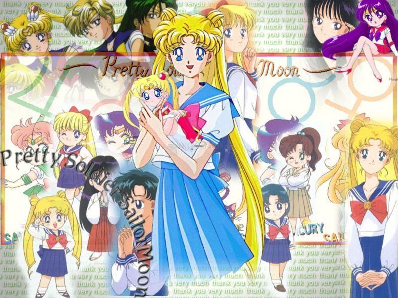 Pantallazo Fondo de escritorio Sailor Moon