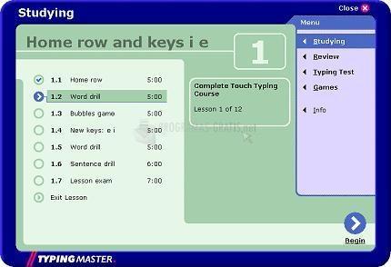 Pantallazo TypingMaster Typing Test