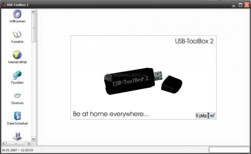 Pantallazo USB-Toolbox