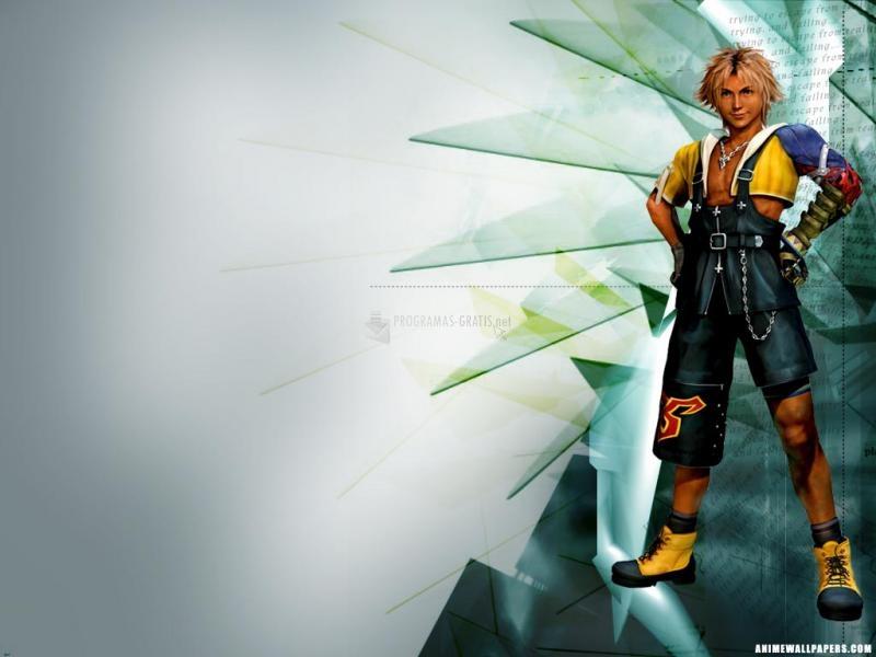 Pantallazo Fondo Final Fantasy X: Tidus