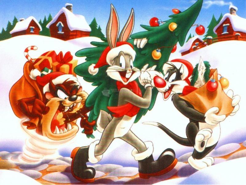 Pantallazo Fondo Navidad Bugs Bunny
