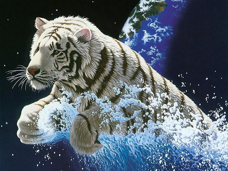 Pantallazo Leon escapando de la Tierra