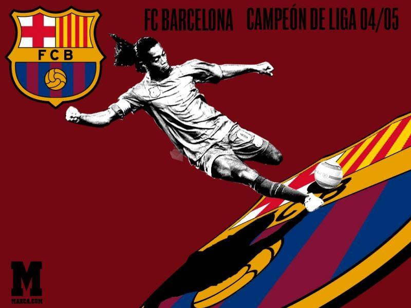 Pantallazo Fondo de Escritorio FC Barcelona
