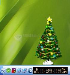 Pantallazo Desktop Christmas Tree