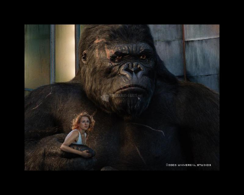 Pantallazo King Kong Salvapantallas