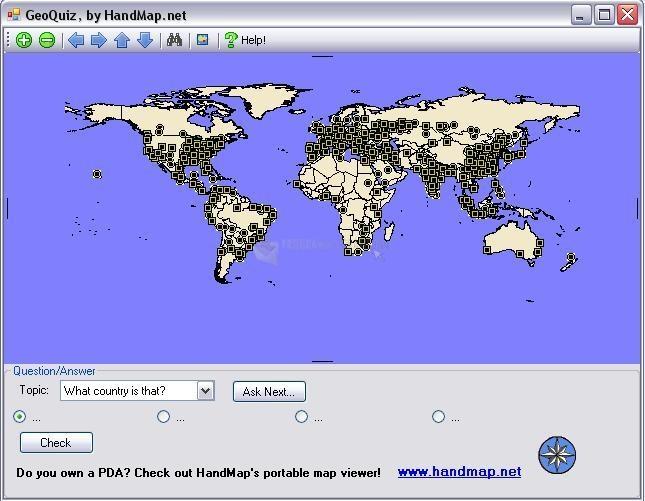 Pantallazo GeoQuiz Geography