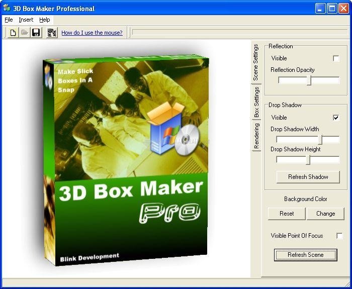 Pantallazo 3D Box Maker Professional