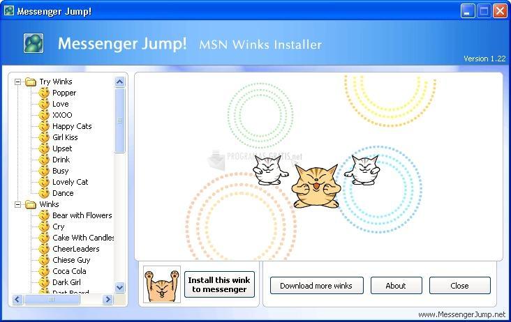 Pantallazo Messenger Jump