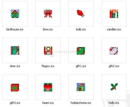 Pantallazo Christmas Icons Set