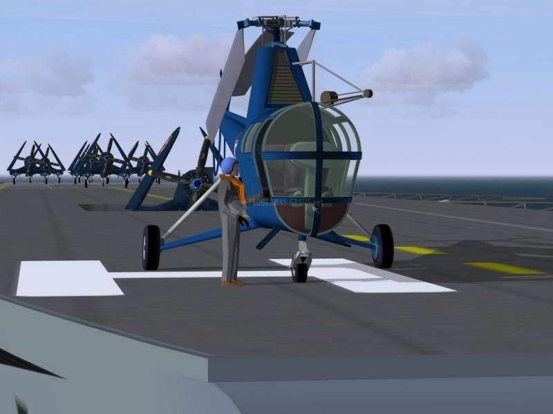 Pantallazo FlightGear