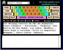 Pantallazo Bodie`s Typing