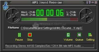 Pantallazo Power MP3 Recorder