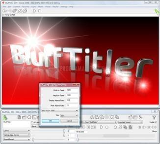 Captura de pantalla BluffTitler DX9