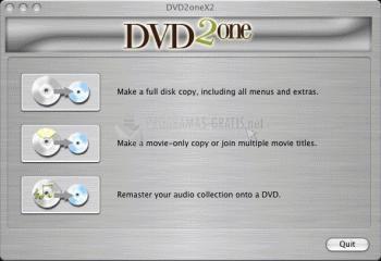 Pantallazo DVD2one