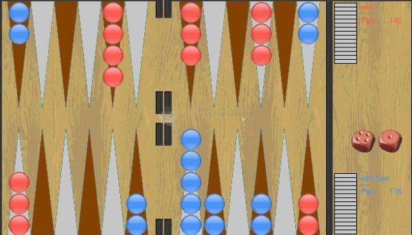 Pantallazo DJ-Backgammon