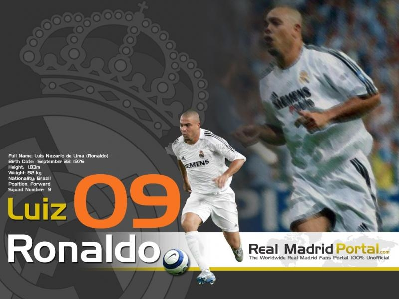 Pantallazo Fondo Real Madrid: Ronaldo