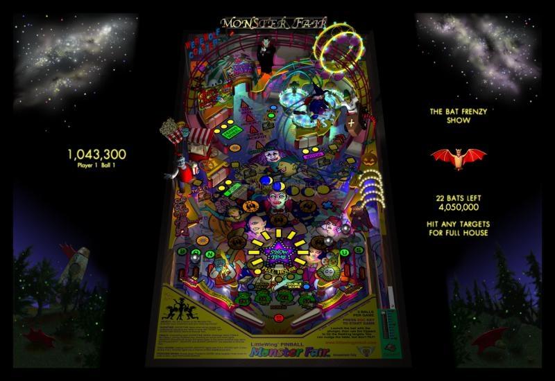 Pantallazo Monster Fair Pinball