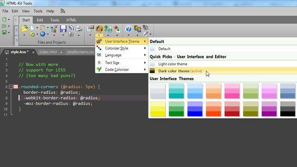 Pantallazo HTML-Kit
