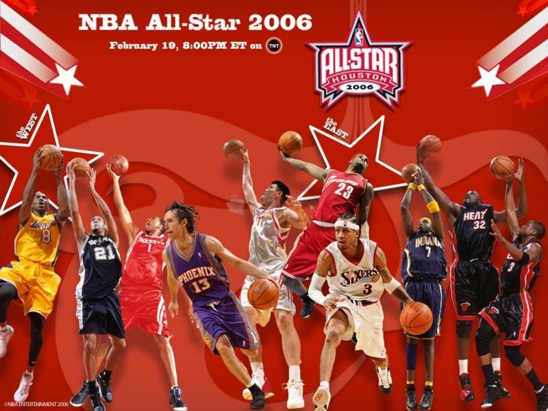 Pantallazo NBA All Star 2006 Wallpaper