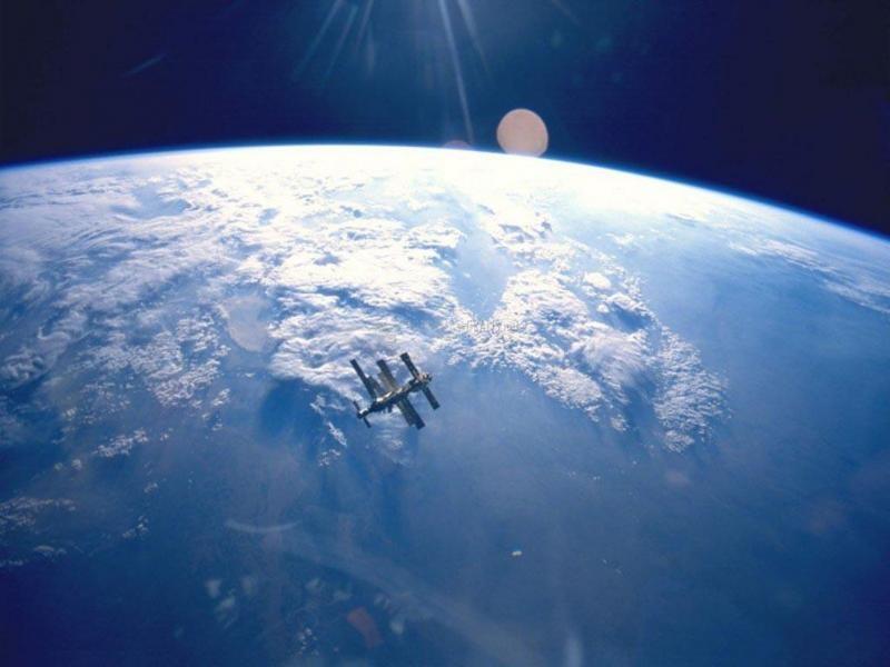 Pantallazo Amanecer en el Espacio