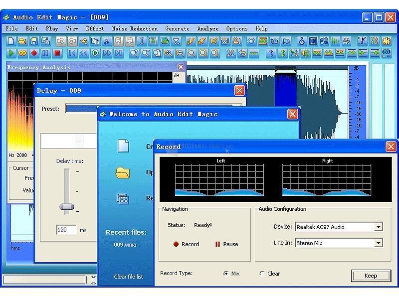 Pantallazo Audio Edit Magic