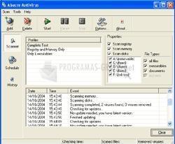 Pantallazo Abacre Antivirus