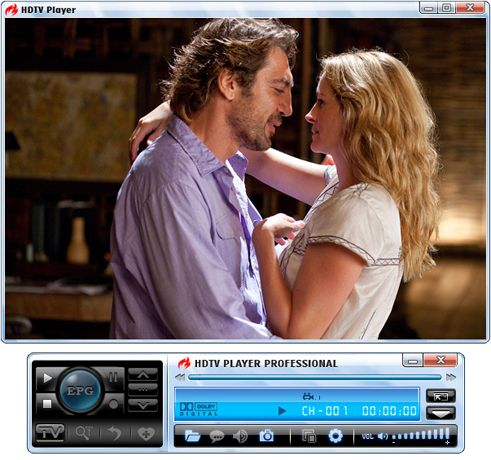 Pantallazo BlazeVideo HDTV Player