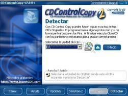 Pantallazo CD Control Copy