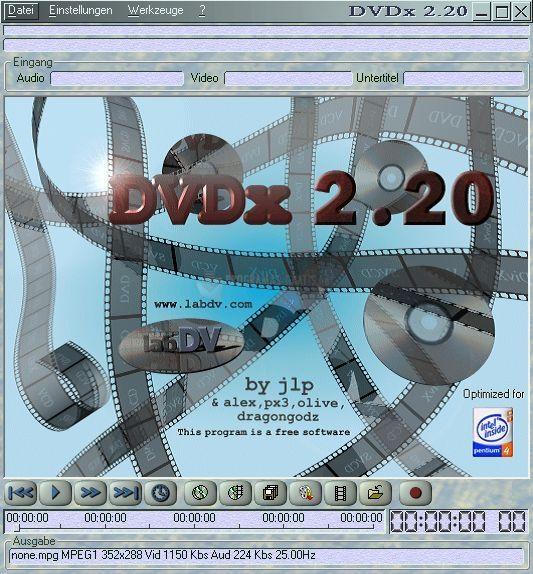 Pantallazo DVDx