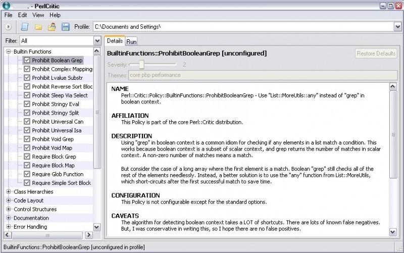 Pantallazo Active Perl