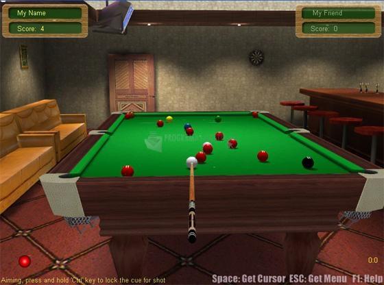 Pantallazo 3D Live Snooker