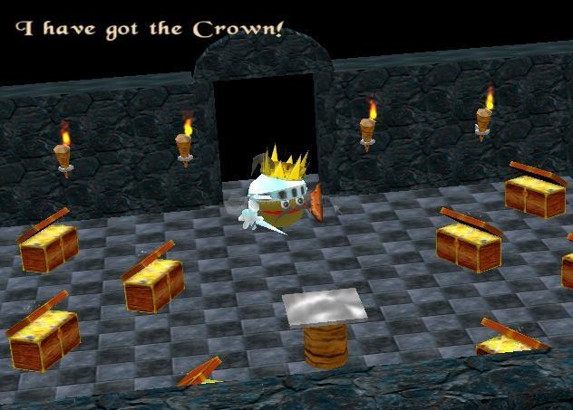 Pantallazo 3D Pacman Trial