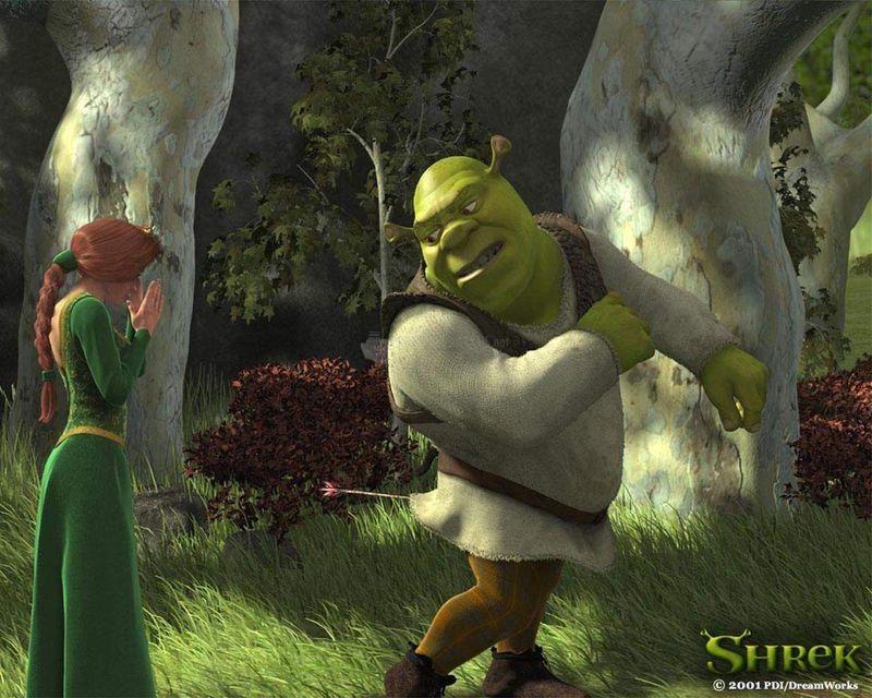 Pantallazo Shrek 2, salvapantallas