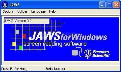 Pantallazo JAWS