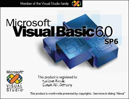 Pantallazo Visual Basic Runtime Files