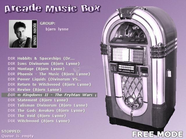 Pantallazo Arcade Music Box 2