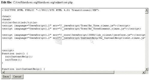 Pantallazo Tools JavaScript