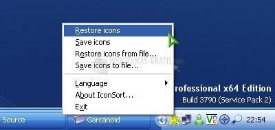 Pantallazo IconSort