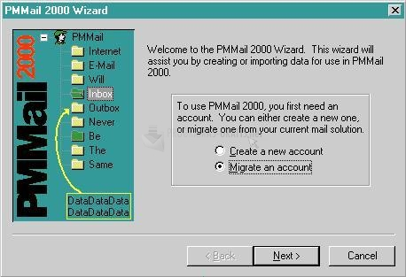 Pantallazo PMMail 2000 Pro