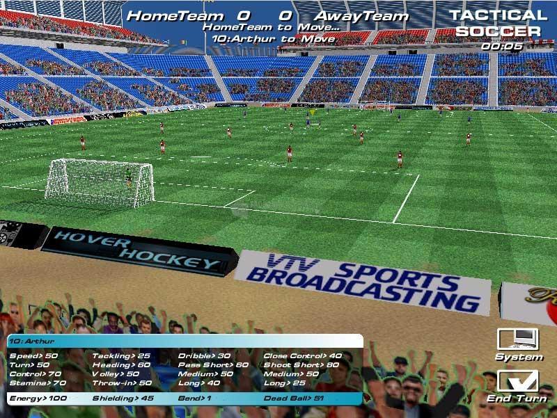 Pantallazo Tactical Soccer