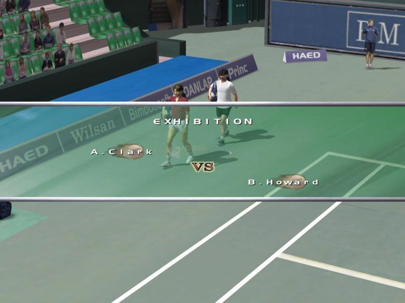 Screenshot Dream Match Tennis Basic