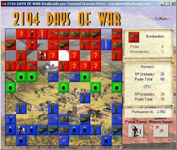 Pantallazo 2194 Days of War