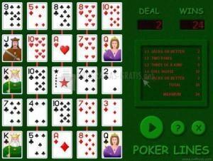 Pantallazo Poker Lines