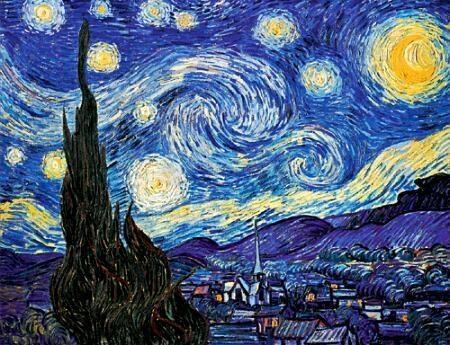 Pantallazo Van Gogh, salvapantallas