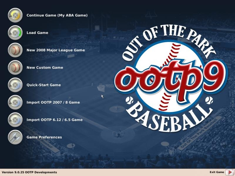 Pantallazo Out of the Park Baseball
